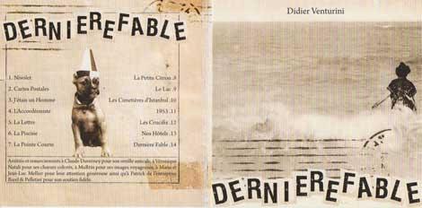 Album Dernière fable